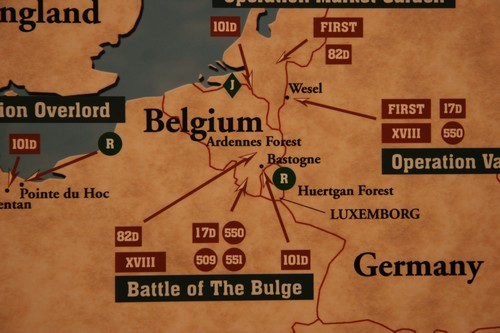 Les unités qui sont intervenues pour libérer les Ardennes