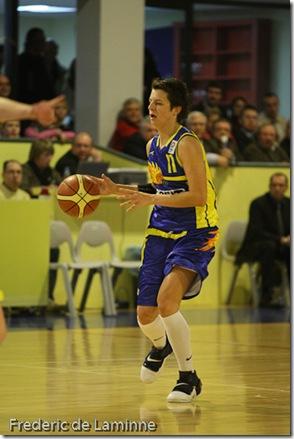 Namur, 20/12/2007Dexia Namur contre Kosit 2013 Kosice en 1/16 de finales de l'Euroleague de Basket féminin (groupe C)